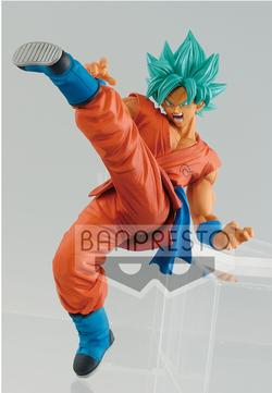 FIGURA BANPRESTO DRAGON BALL GOKU GOD 16 CM