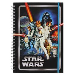 LIBRETA SPIRAL A4 STAR WARS NEW HOPE