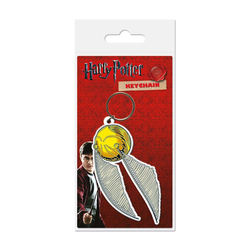 LLAVERO GOMA HARRY POTTER SNITCH