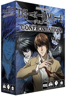 DEATH NOTE CONFRONTATION (INGLES)