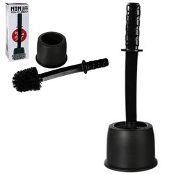 NINJA TOILET BRUSH 41 CM