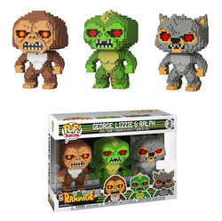 FIGURA POP PACK 3 8-BIT RAMPAGE