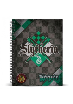 LIBRETA SPIRAL A4 HARRY POTTER SLYTHERIN