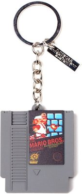NINTENDO 3D CARTRIDGE KEYCHAIN