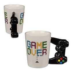 TAZA CERAMICA GAME OVER MANDO