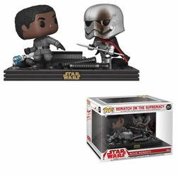 FIGURA POP STAR WARS DUELS: FINN VS CAPTAIN PHASMA