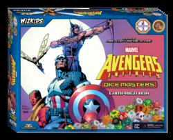 MARVEL DICE MASTERS: AVENGERS INFINITY CAMPAIGN BOX (INGLES)