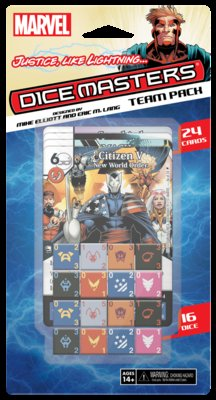 MARVEL DICE MASTERS: JUSTICE LIKE LIGHTNING TEAM PACK (INGLES)