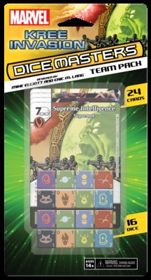MARVEL DICE MASTERS: KREE INVASION TEAM PACK (INGLES)
