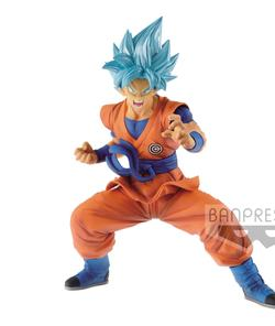 FIGURA BANPRESTO DRAGON BALL GOKU BLUE 23 CM