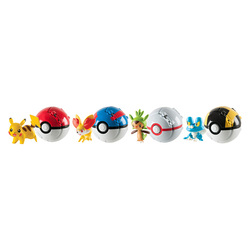 POKEMON FIGURE POKEBALL THROW ASSORTMENT
