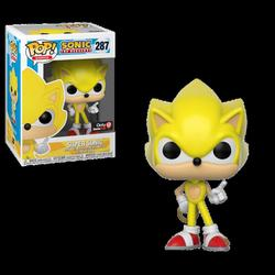 POP FIGURE SONIC: SUPER SONIC
