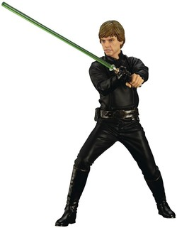 FIGURA ARTFX STAR WARS LUKE RETURN JEDI 16 CM