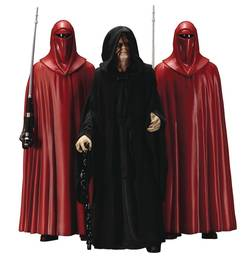 FIGURAS STAR WARS PALPATINE & ROYAL GUARD PACK 18 CM
