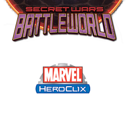 MARVEL HEROCLIX - SECRET WARS BATTLEWORLD TOKENS