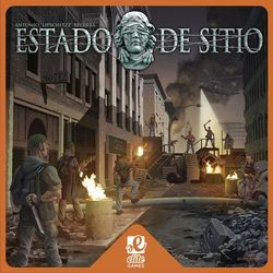 ESTADO DE SITIO BOARD GAME *SPANISH*