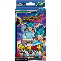 DRAGON BALL TCG MAZOS AWAKENING (6) *INGLES*