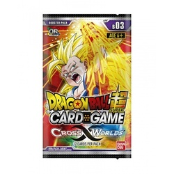 DRAGON BALL TCG SOBRES CROSS WORLDS (24) *INGLES*