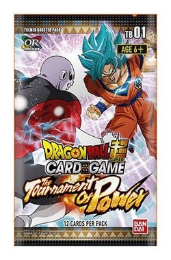 DRAGON BALL TCG SOBRES TOURNAMENT OF POWER  (24) *INGLES*