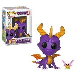 POP FIGURE SPYRO THE DRAGON: SPYRO & SPARKS