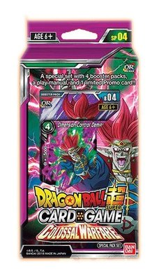 DRAGON BALL TCG SPECIAL PACK COLOSSAL WARFARE (6) (INGLES)