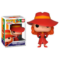 POP FIGURE CARMEN SANDIEGO