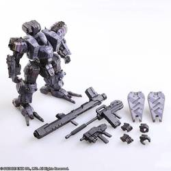 FIGURA FRONT MISSION ZENITH URBAN PLAY ARTS 12 CM