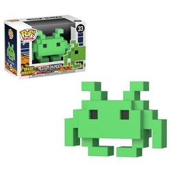 POP FIGURE 8 BIT SPACE INVADERS: MD INVADER
