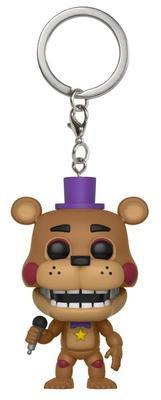 LLAVERO POP FNAF 6 PIZZA ROCKSTAR FREDDY