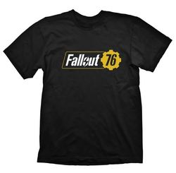 FALLOUT 76 BLACK T-SHIRT XL