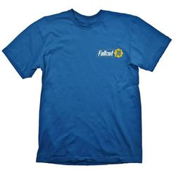 FALLOUT 76 BLUE T-SHIRT XL