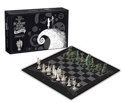 NIGHTMARE BEFORE CHRISTMAS CHESS COLLECTOR´S SET 25 YEARS