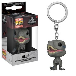 LLAVERO POP JURASSIC WORLD 2 BLUE