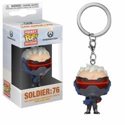 POP KEYRING OVERWATCH SOLDIER 76
