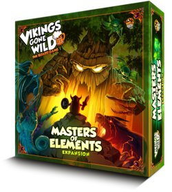 VIKINGS GONE WILD EXPANSION: ELEMENTS (INGLES)