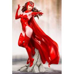 MARVEL UNIVERSE MARVEL COMICS AVENGERS SERIES SCARLET WITCH ARTF