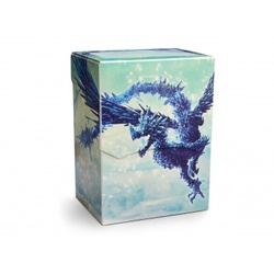 DRAGON SHIELD DECK SHELL - CELESTE CLEAR BLUE