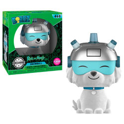 DORBZ FIGURE RICK & MORTY: SNOWBALL FLOCKED