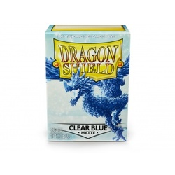 FUNDA DRAGON SHIELD MATTE CLEAR BLUE (100)