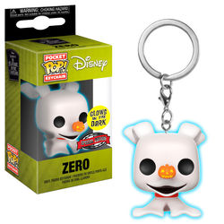 LLAVERO POP DISNEY NBX ZERO (GLOW IN THE DARK)