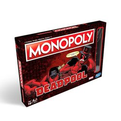 MONOPOLY DEADPOOL EDITION  (INGLES)