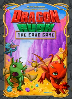 DRAGON RUSH CARD GAME *SPANISH*