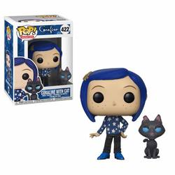 FIGURA POP CORALINE: CORALINE WITH CAT BUDDY