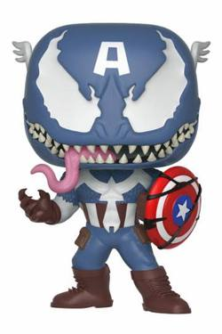 POP FIGURE MARVEL VENOM: VENOM CAPTAIN AMERICA