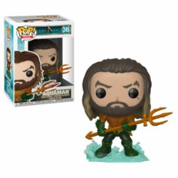 FIGURA POP AQUAMAN: ARTHUR CURRY HERO SUIT