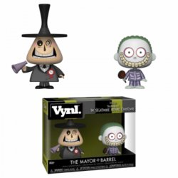FUNKO VYNL NBX MAYOR & BARREL 2 PACK 10 CM