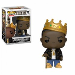 FIGURA POP ROCKS: NOTORIOUS B.I.G. CON CORONA