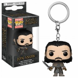 POP KEYCHAIN GAME OF THRONES JON SNOW WALL