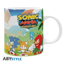 TAZA SONIC MANIA ADVENTURES 320ML