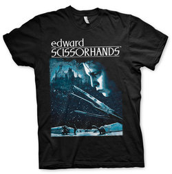 EDWARD SCISSORHANDS T-SHIRT POSTER XL